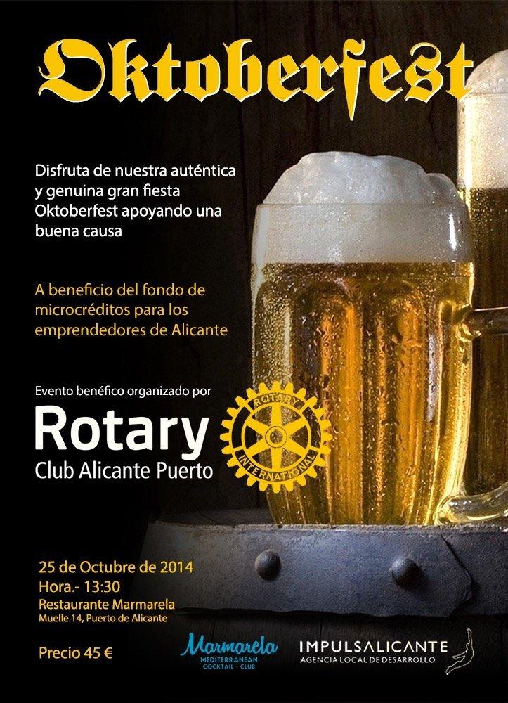Oktoberfest 2014 Rotary Club Alicante Puerto